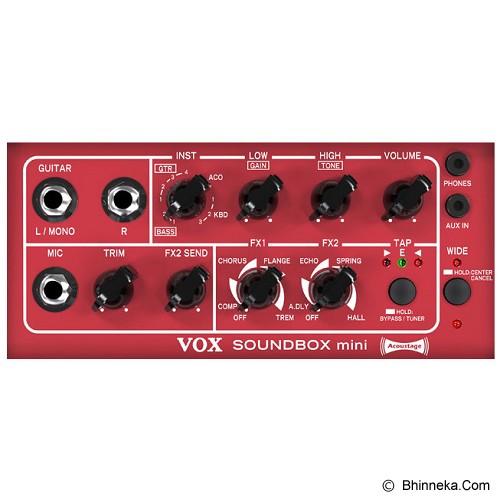 VOX Sounbox Mini Amplifier [SOUNDBOX-M-GR] - Green - Gitar Amplifier